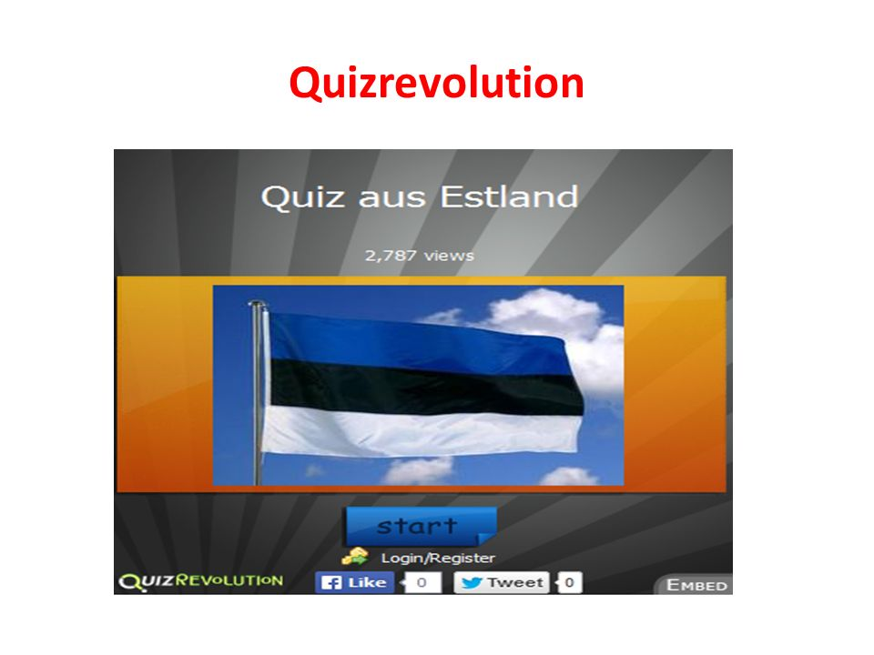 Quizrevolution