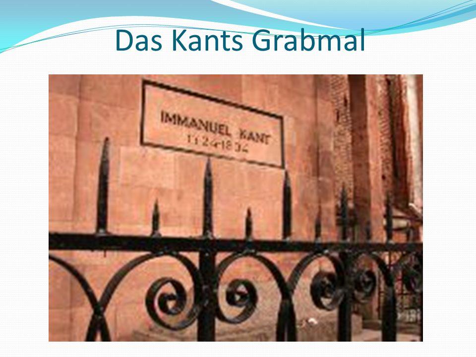 Das Kants Grabmal