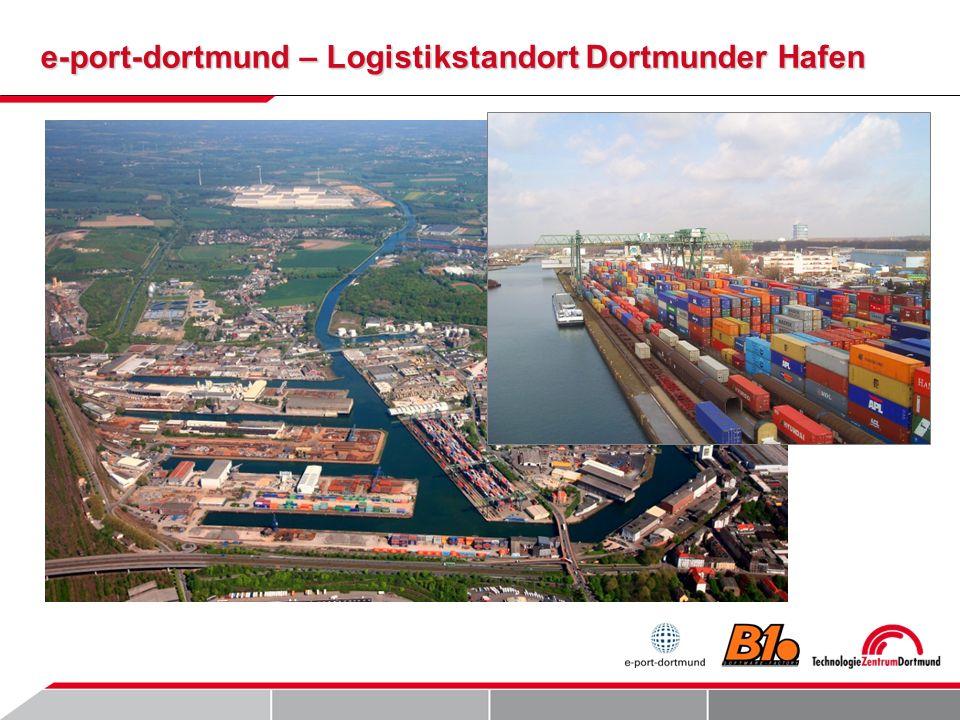 e-port-dortmund – Logistikstandort Dortmunder Hafen
