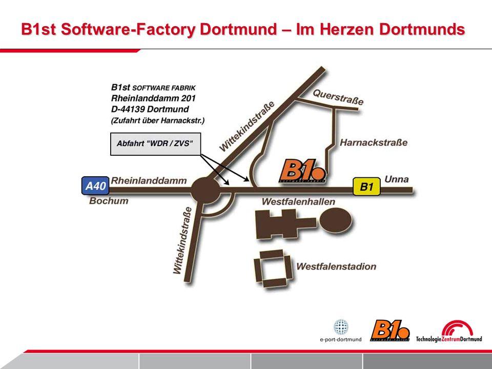 B1st Software-Factory Dortmund – Im Herzen Dortmunds