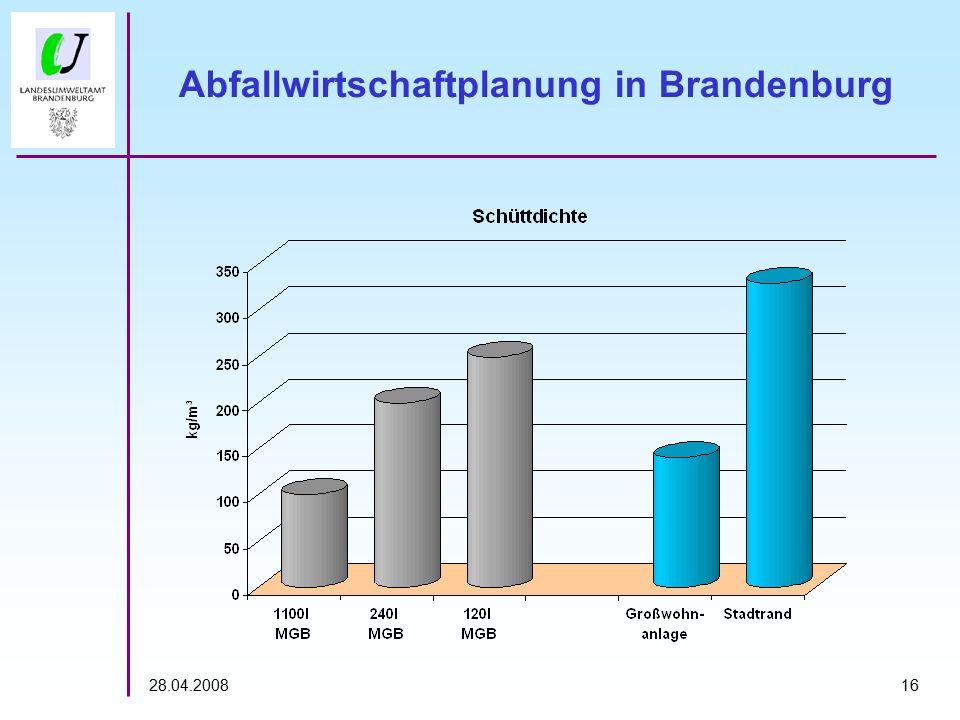 1628.04.2008 Abfallwirtschaftplanung in Brandenburg
