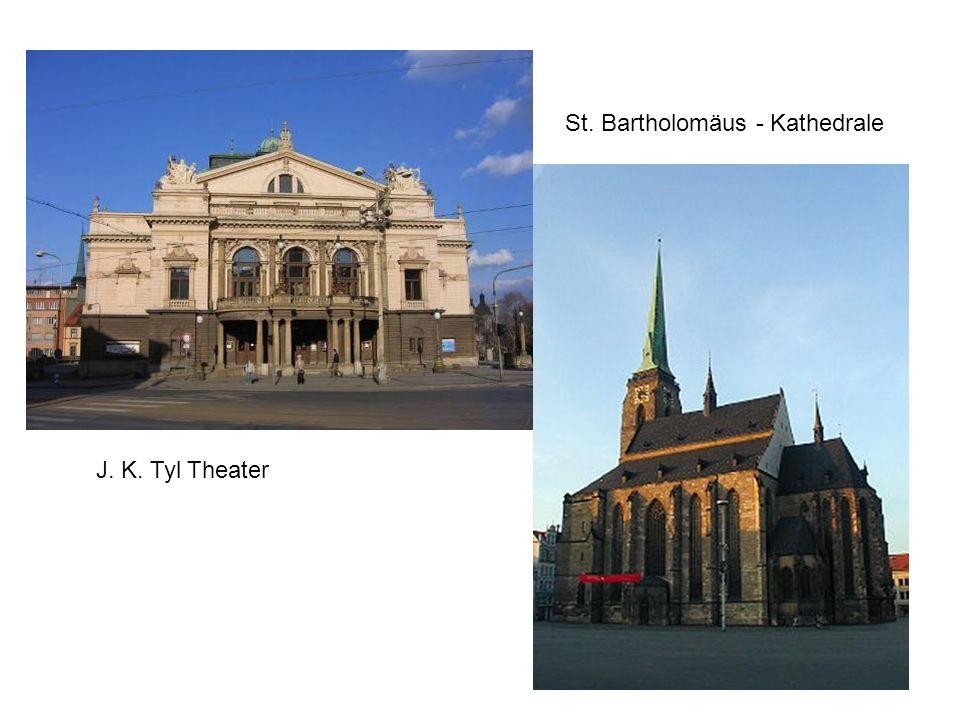 J. K. Tyl Theater St. Bartholomäus - Kathedrale