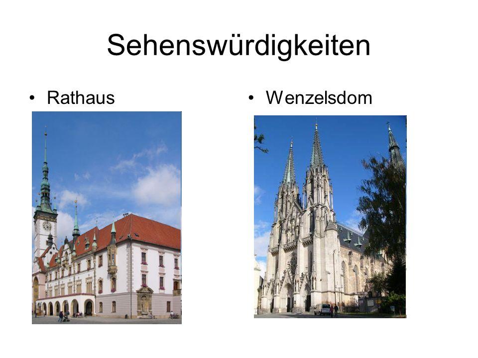 Sehenswürdigkeiten RathausWenzelsdom