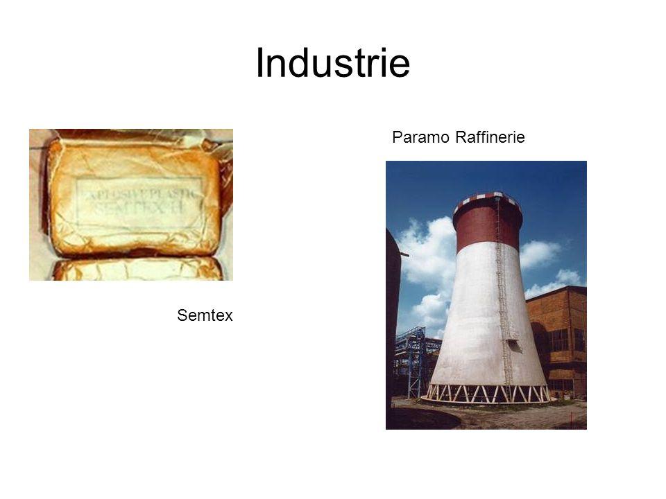 Industrie Semtex Paramo Raffinerie