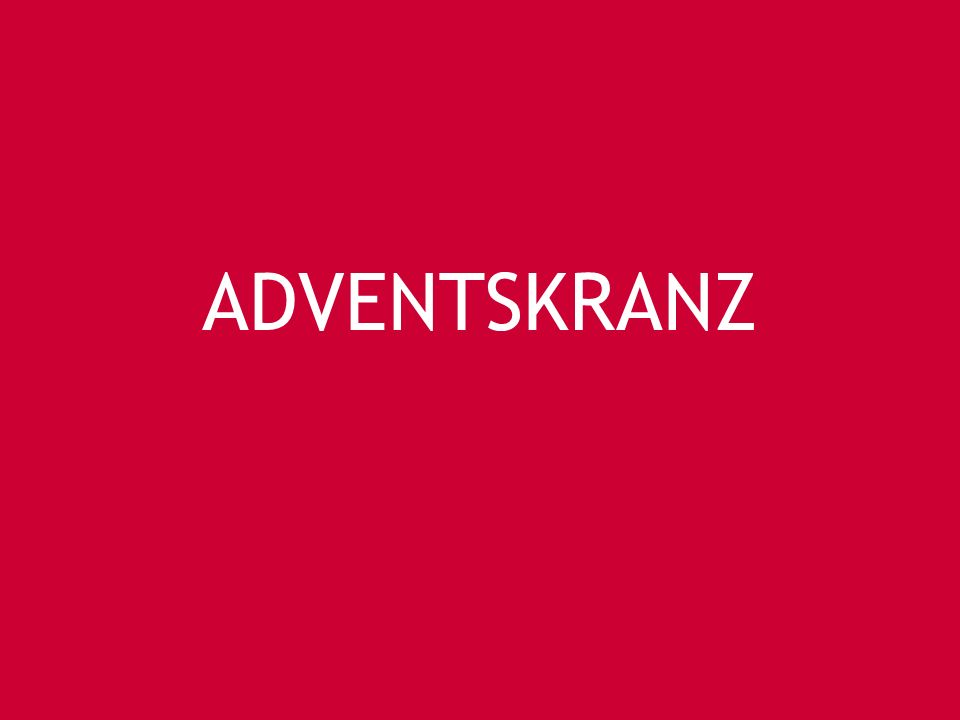 ADVENTSKRANZ