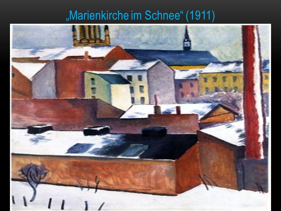 """""""Marienkirche im Schnee (1911)"""