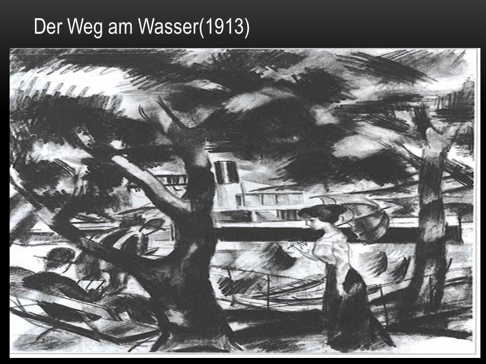 Der Weg am Wasser(1913)