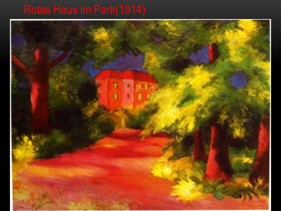 Rotes Haus im Park(1914)