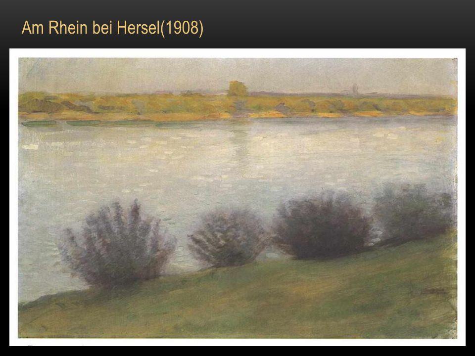 Selbstportrait mit Hut (1909)