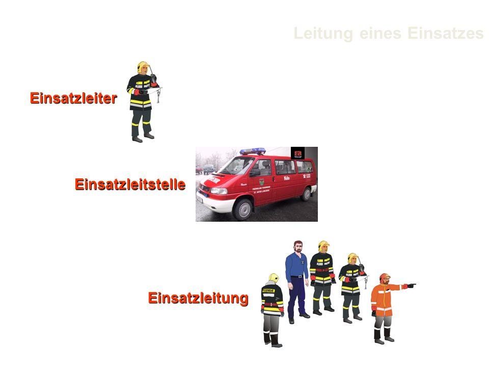 Einsatzleiter Einsatzleitung Einsatzleitstelle Leitung eines Einsatzes