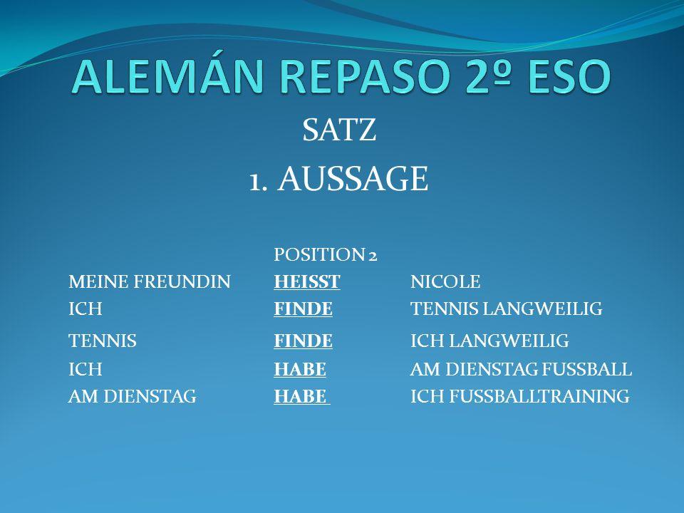 SATZ 1.