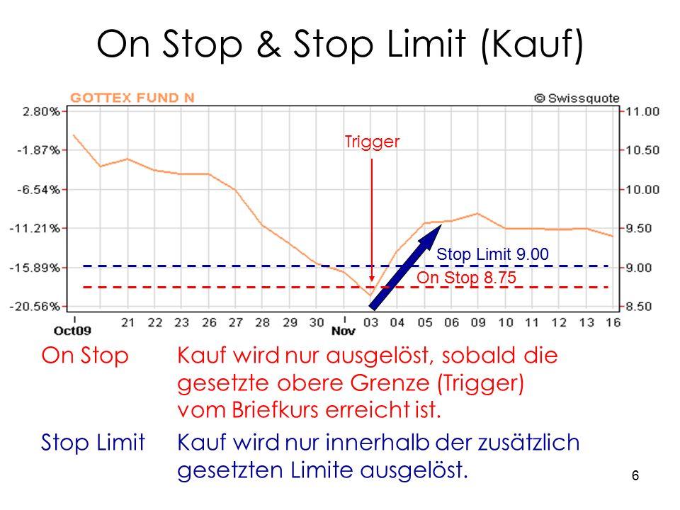 7 Praktisches Beispiel Swissquote Wer möchte einen Aktientitel zum Kauf vorschlagen?