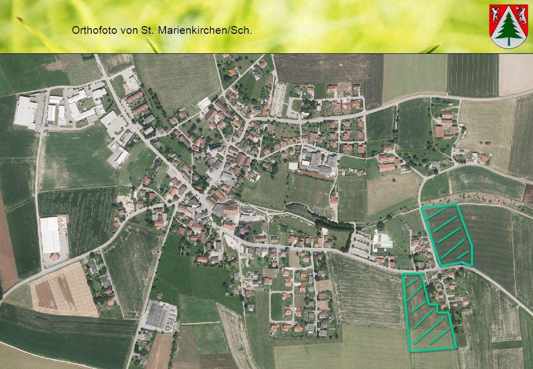 Orthofoto von St. Marienkirchen/Sch.