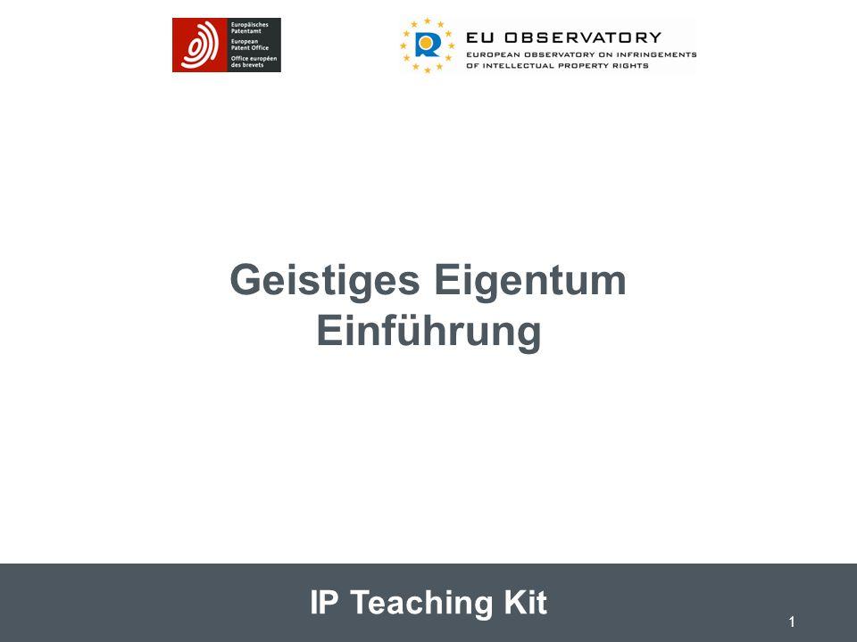 IP Teaching Kit Geistiges Eigentum Einführung 1