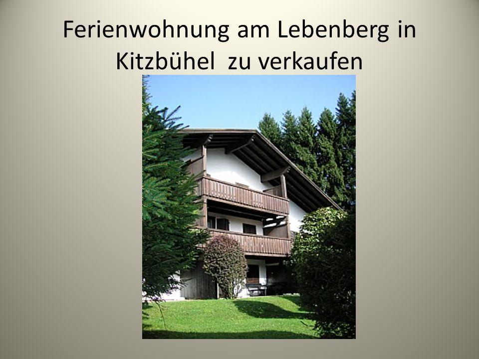 Ferienwohnung am Lebenberg in Kitzbühel zu verkaufen