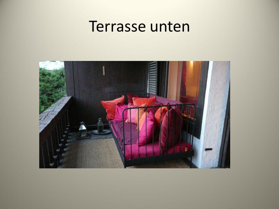 Terrasse unten