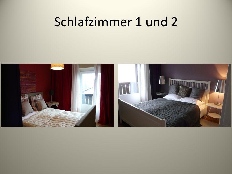 Schlafzimmer 1 und 2