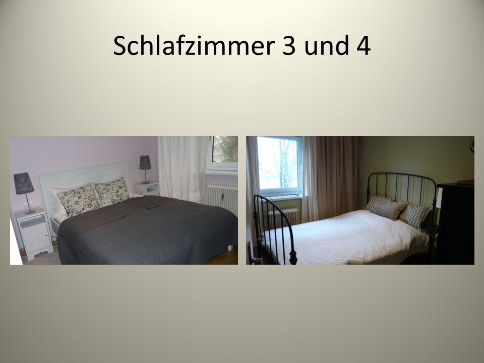 Schlafzimmer 3 und 4