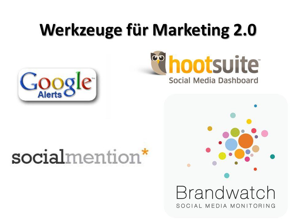 Werkzeuge für Marketing 2.0