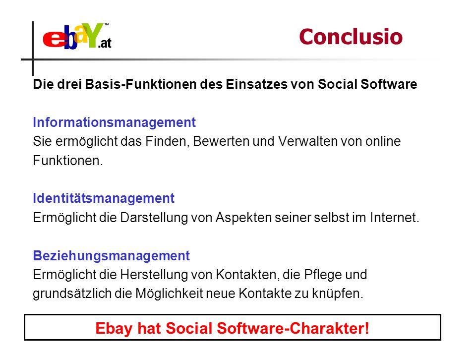 Die drei Basis-Funktionen des Einsatzes von Social Software Informationsmanagement Sie ermöglicht das Finden, Bewerten und Verwalten von online Funkti