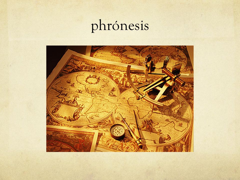 phrónesis