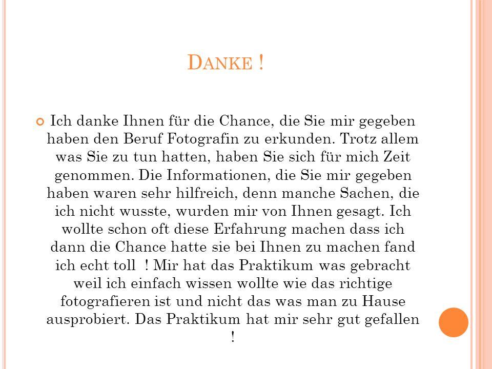 D ANKE .