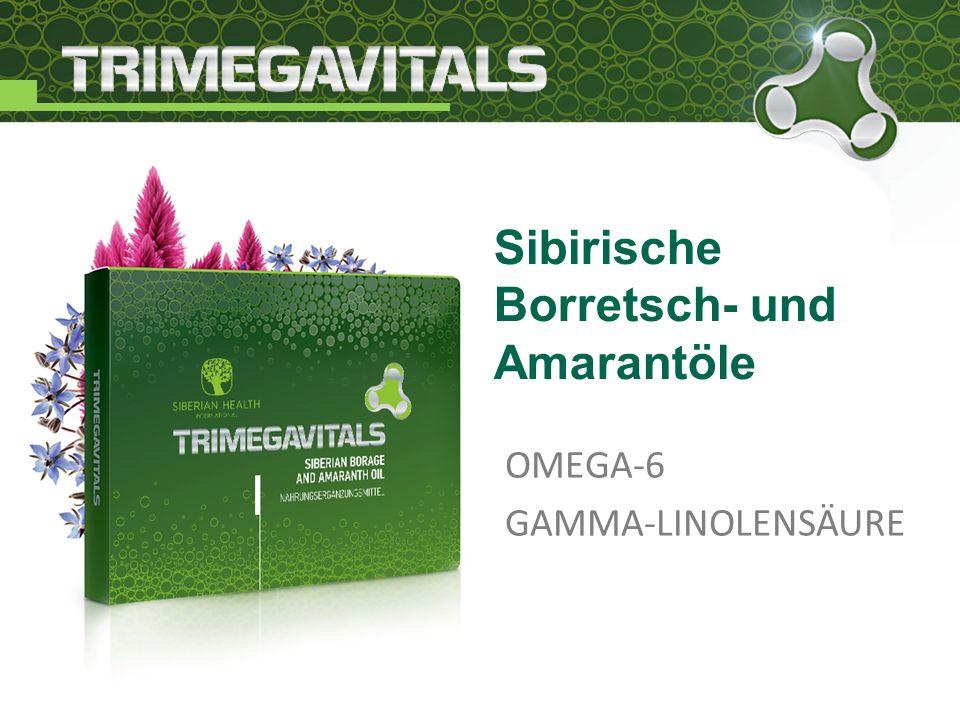 OMEGA-6 GAMMA-LINOLENSÄURE Sibirische Borretsch- und Amarantöle