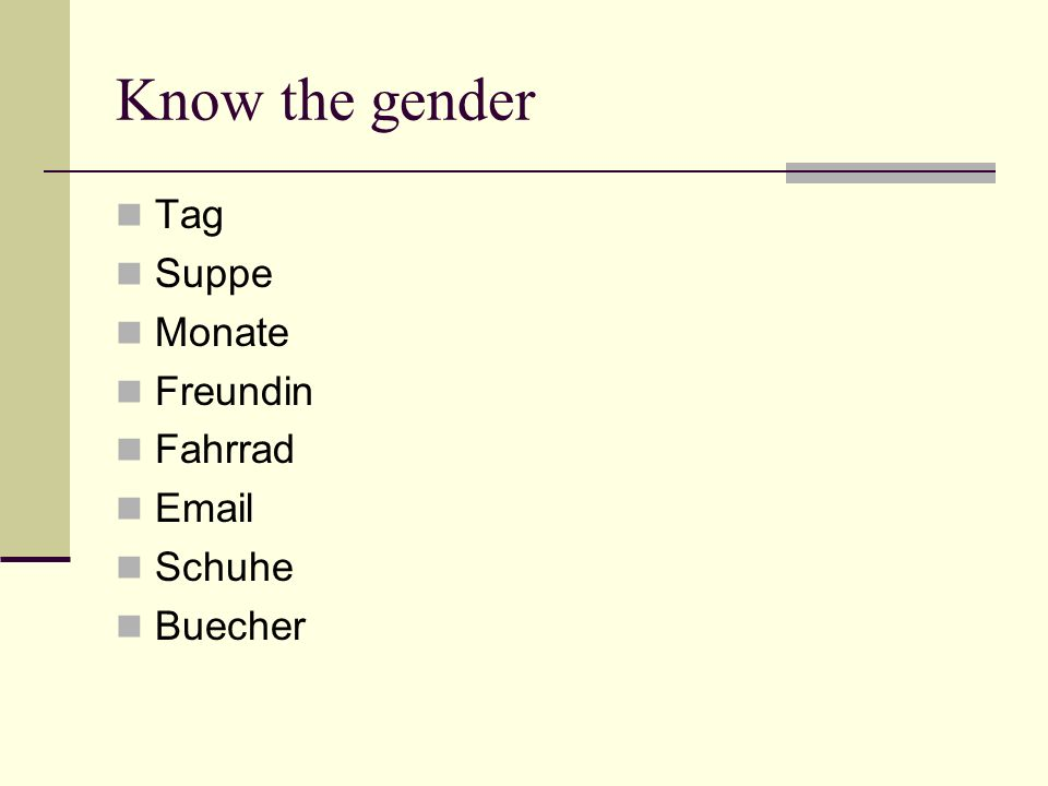Know the gender Tag Suppe Monate Freundin Fahrrad  Schuhe Buecher