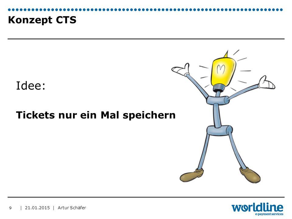 | 21.01.2015 | Artur Schäfer Konzept CTS Idee: Tickets nur ein Mal speichern 9