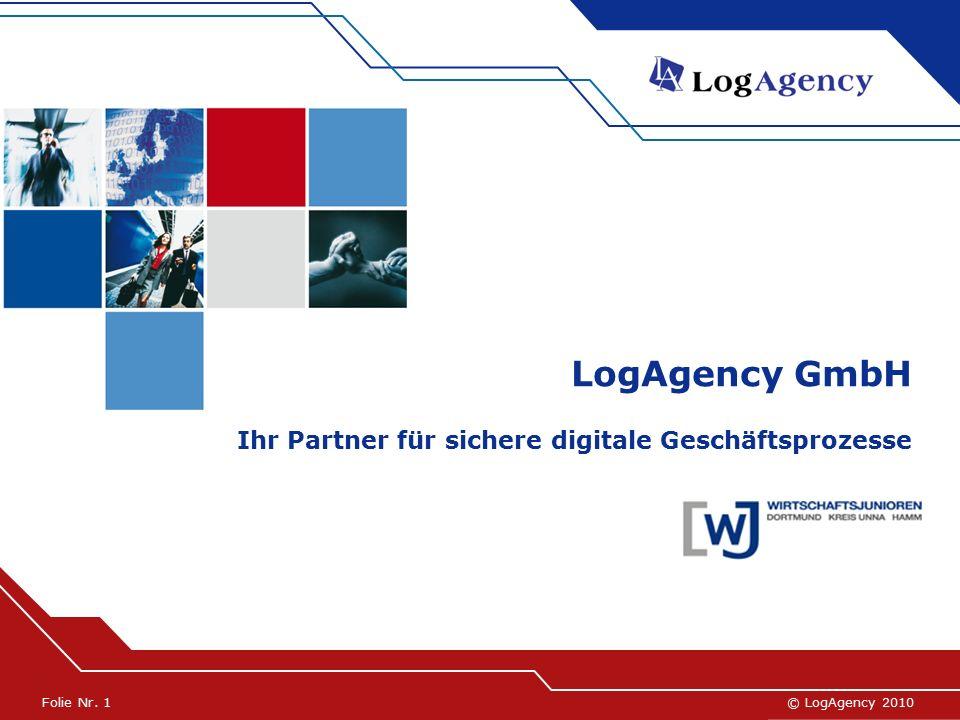 © LogAgency 2005© LogAgency 2010Folie Nr.
