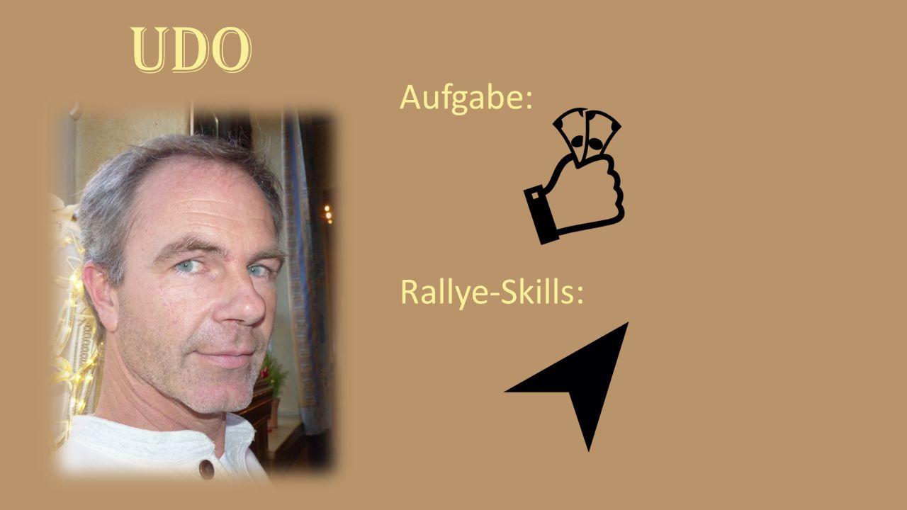 UDO Aufgabe: Rallye-Skills: