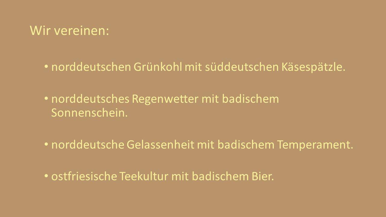 Wir vereinen: norddeutschen Grünkohl mit süddeutschen Käsespätzle.