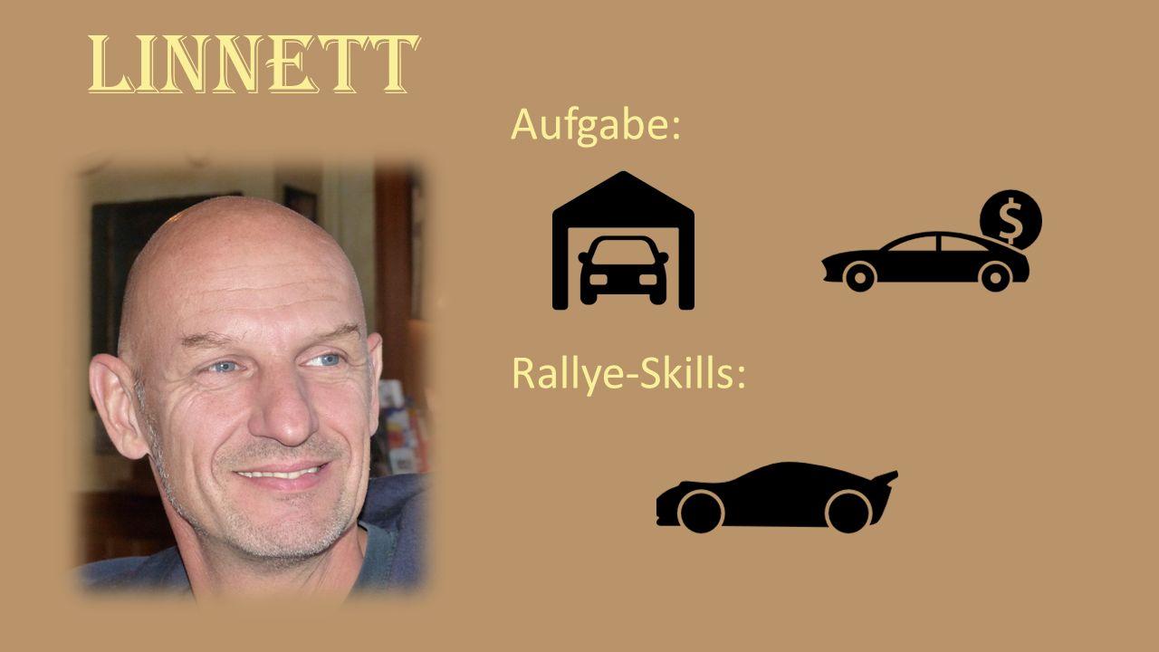 Linnett Aufgabe: Rallye-Skills:
