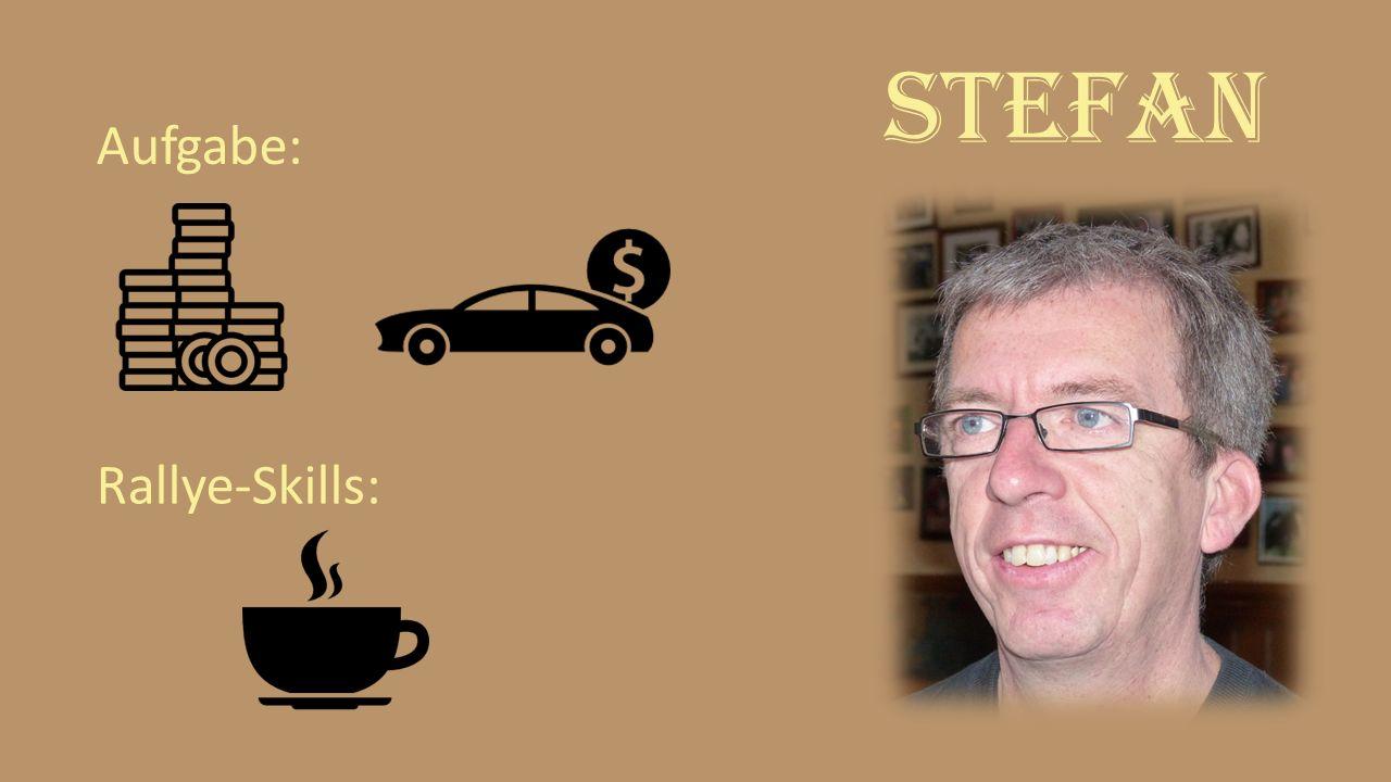 Stefan Aufgabe: Rallye-Skills: