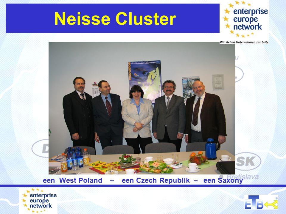 Neisse Cluster een West Poland – een Czech Republik – een Saxony