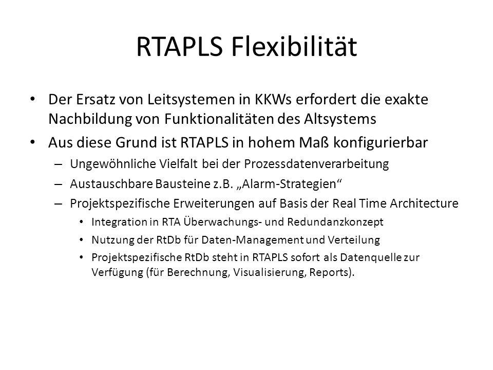 RTAPLS Standards RTAPLS unterstützt die Standards der Automatisierungs- und der Office-Welt.