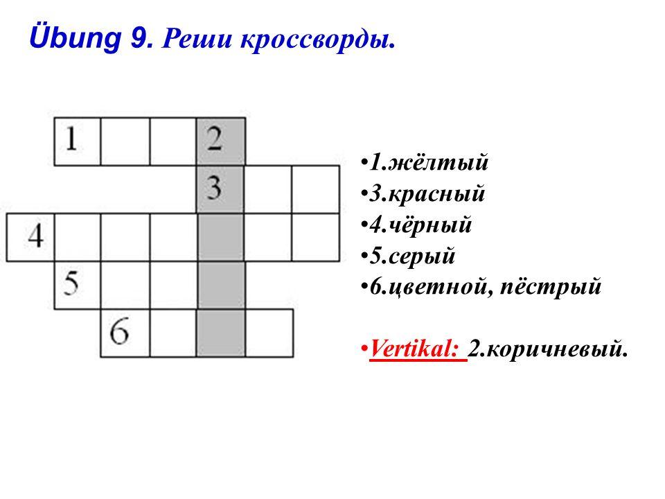 Übung 8. Игра. Учитель сообщает правильную или неправильную информацию.