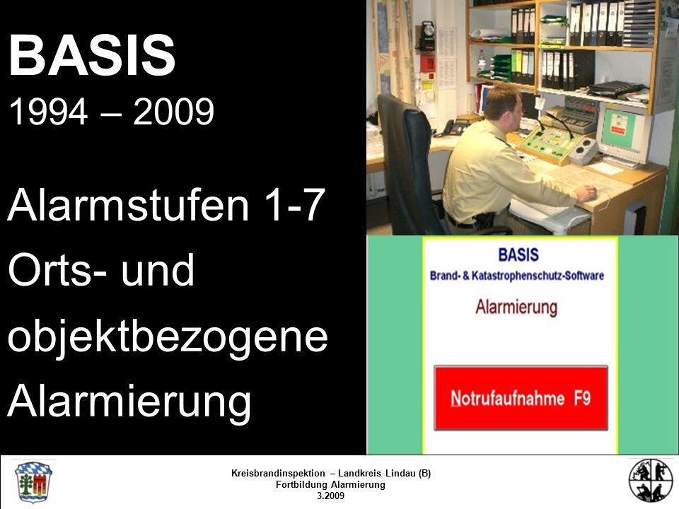 EU-Notruf 112 Notruf- Möglichkeiten Zahlenwerk Kreisbrandinspektion Lindau/Bodensee 3.2009/fs/kbr Kreisbrandinspektion – Landkreis Lindau (B) Fortbildung Alarmierung 3.2009