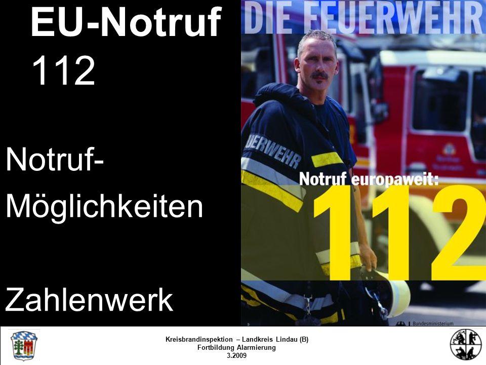 Integrierte Leitstellen Politischer Wille – Forderung der Feuerwehren Gesetz zur Schaffung von ….