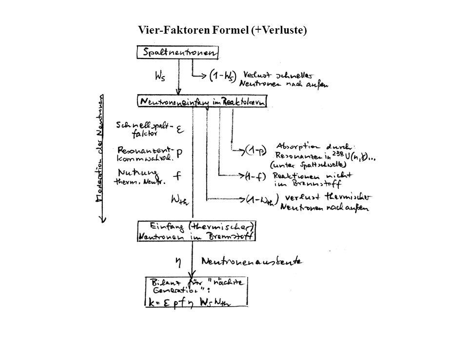 Vier-Faktoren Formel (+Verluste)