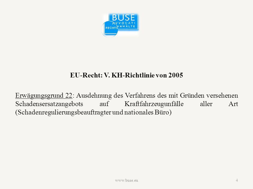 Überblick nationale Systeme www.buse.eu5
