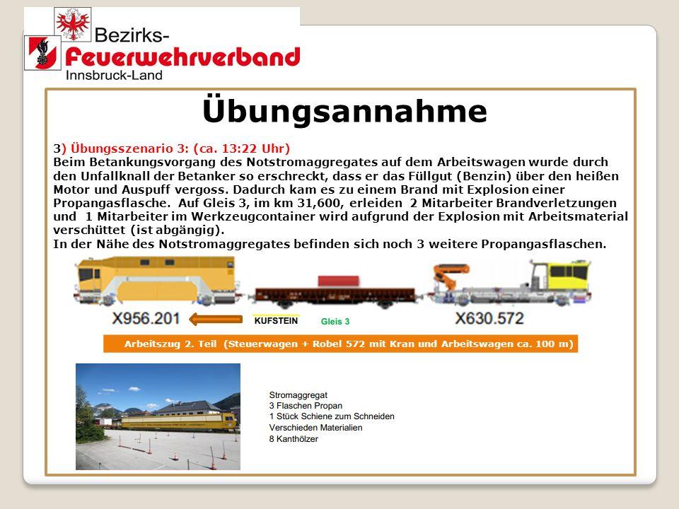 Übungsort Münstertunnel NA 11 NA 10 r.