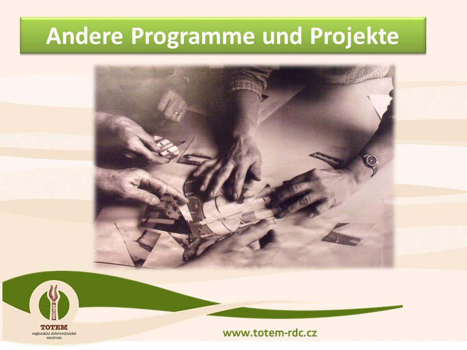 Andere Programme und Projekte