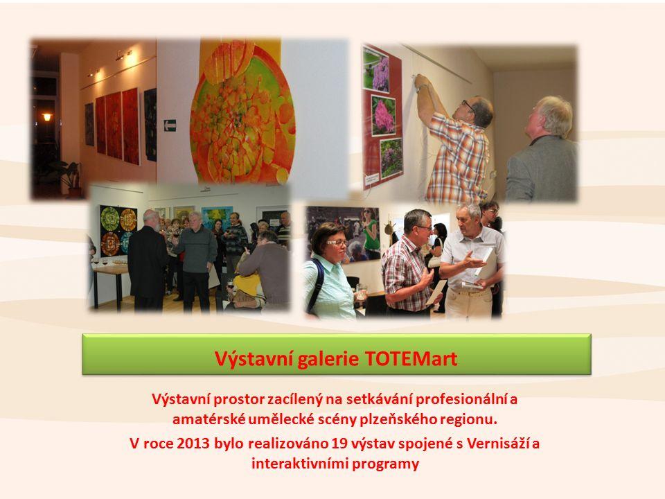 Výstavní prostor zacílený na setkávání profesionální a amatérské umělecké scény plzeňského regionu.