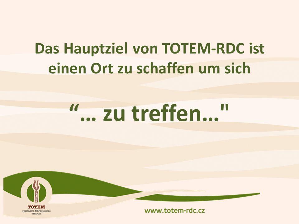 Das Hauptziel von TOTEM-RDC ist einen Ort zu schaffen um sich … zu treffen…