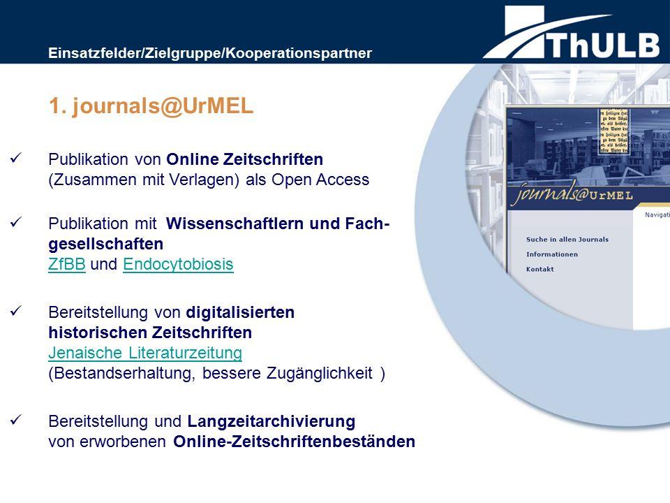 Publikation von Online Zeitschriften (Zusammen mit Verlagen) als Open Access Publikation mit Wissenschaftlern und Fach- gesellschaften ZfBB und Endocy