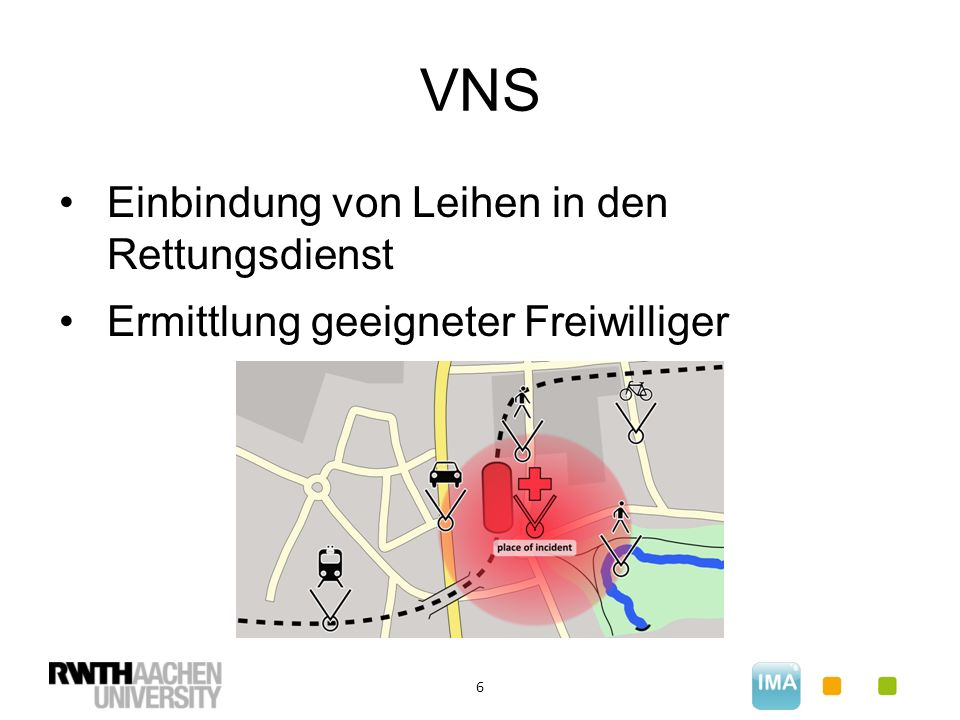VNS 6 Einbindung von Leihen in den Rettungsdienst Ermittlung geeigneter Freiwilliger