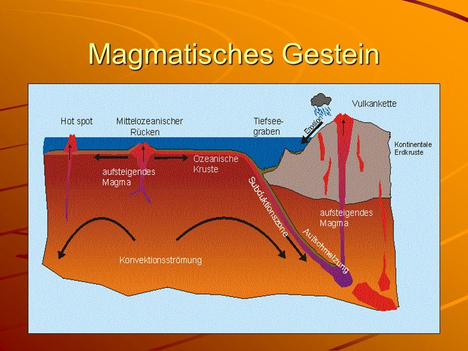 Aufbau der Erde Der Kern liegt 6378 km unter der Erdkruste.