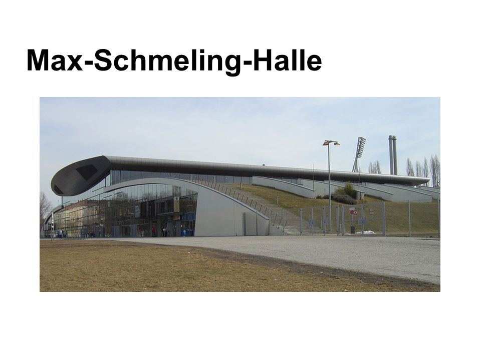 Max-Schmeling-Halle