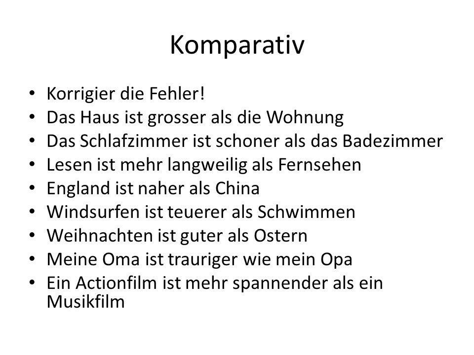 Komparativ Übersetz.
